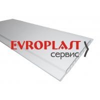 Вагонка ПВХ белая Европластсервис 3 м
