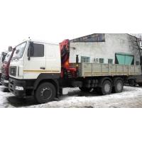Продается МАЗ 6312В5 с КМУ