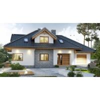 Готовый проект коттеджа 229 кв.м / Артикул бром-91  Лучший дом 91
