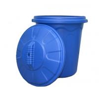Бак пластмассовый для мусора. (80,100,120 л)
