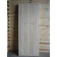 Двери деревянные банные