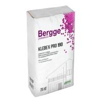 Клей для утеплителя Bergge Klebex PRO 190 25кг