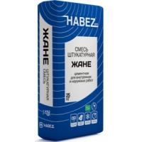 Смесь штукатурная цементная Habez-Gips ЖАНЕ 25 кг