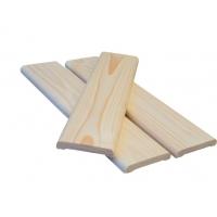 Погонажные изделия из сосны:  наличник, плинтус, уголок, раскладка, брусок
