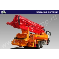 Автобетононасос KCP Heavy Industries CO 38RX170 на шасси HYUNDAI