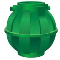 Емкость 5 000 литров шар для подземного использования
