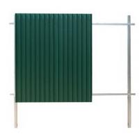 Забор из профлиста - сборка без применения сварки Grand Line