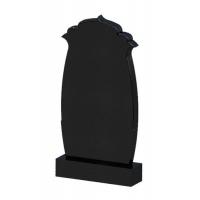 Памятник из черного гранита № 07