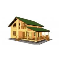 Дом из бруса «Александр»