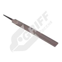 Напильник плоский 150 мм №1 сталь У13 тупоносый GRIFF