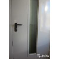 Дверь противопожарная 2100x1300мм стекло 2 створки
