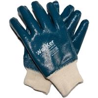 Перчатки нитриловые манжет резинка WorKer per3130