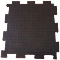 Вулканизированная резиновая плитка, сборные полы для склада Резиплит ЧИП