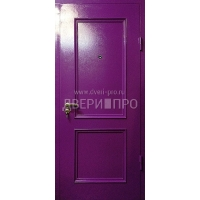 Входная дверь с металлофиленкой