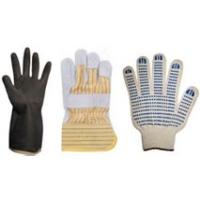 Рабочие перчатки:  ПВХ, КЩС, кожанные