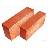 Кирпич красный, рабочий, полнотелый, керамический