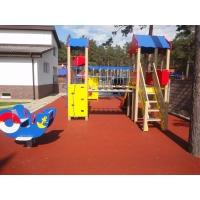 Резиновое покрытие Мастерфайбр для детских и спортивных площадок