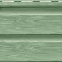 Предлагаем Сайдинг виниловый Ю-Пласт, цвет Зеленый
