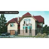 Проект кирпичного дома 37-12 Вертикаль 37-12