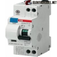 DSH941R Диффавтомат 1P+N 16A (C) 4,5kA тип AC 30mA (2мод.) (2CSR ABB DSH941R