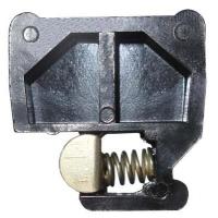 Крышка зажимов торцевая КТ, DIN-рейка, аксессуары к блокам зажим