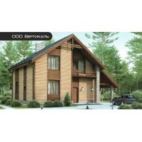 Проект комбинированного дома 54-32 Вертикаль 54-32