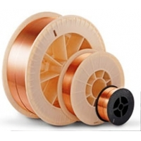 Сварочная проволока СВ 08 Г2С ф 0,8 мм (5кг) D200 стальная омедн  СВ 08 Г2С ф 0,8 мм (5кг) D200