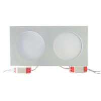 LEDcraft Downlight Белый Прямоугольный 350*180*20 20 Ватт Лэдкрафт LC-D02W-20WW Теплый белый