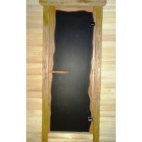 """Дверь стеклянная в сауну """"Бриз""""  БРИЗ"""