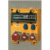 Комплектные устройства в корпусах из твердой резины EverGUM Mennekes габаритный корпус 380х320мм с 1 УЗО
