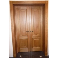 Межкомнатные двери из массива дуба