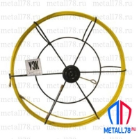 Протяжка для кабеля 3,5 мм 150 м в большой кассете (УЗК)