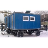 Строительный вагончик на колеснойбазе ООО Энергика