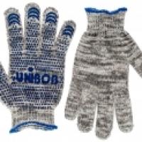 Перчатки трикотажные с ПВХ напылением UNIBOB