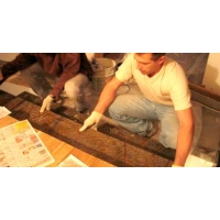 Мраморные ступени-самоставы на установочных шпильках. Ступешки ру