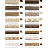 Поставляем оптом из Южной Кореи  декоративный профиль  Wooden pulp Decorative mouldings