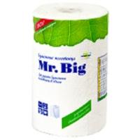 Бумажные полотенца Mr. Big белые     3 в 1
