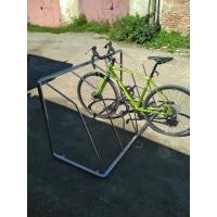 Велопарковка из нержавеющей зеркальной стали