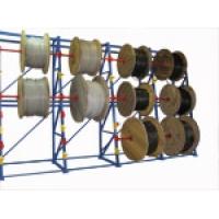 Стеллаж для хранения кабельных барабанов 2,8 м