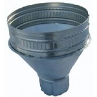 воронка водосточная оцинкованная Водосточные системы 80 мм