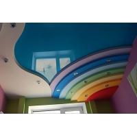 Натяжные потолки Италия  бесшовные белые и цветные
