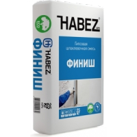 Гипсовая шпаклевочная смесь Habez-Gips