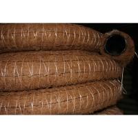 Труба дренажная ПЭНД-110 в фильтре из кокос. волокна бухта 50 м