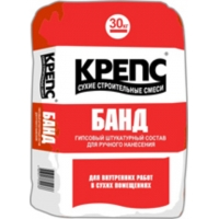 Штукатурка гипсовая KREPS БАНД (30кг)
