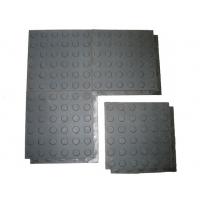Покрытие резиновое для пола в гараж Резиплит модульное 16 мм