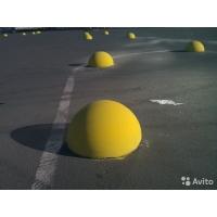 Антипарковочная полусфера (бетонная)