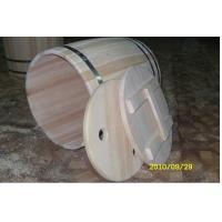 Бочка деревянная из кедра 50 литров