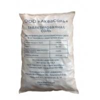 Соль таблетированная для водоподготовки АкваСоль