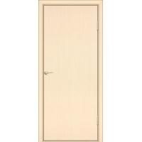 Межкомнатная дверь Тип 1 Серия Флэт Беленый дуб вертикальный Завод Деревоизделий
