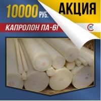 Акция! Капролон 220х500 мм ПА-6 за 10000 р/шт.